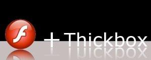 Flash e thickbox
