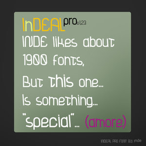 indeal_regular_by_inde_graphics