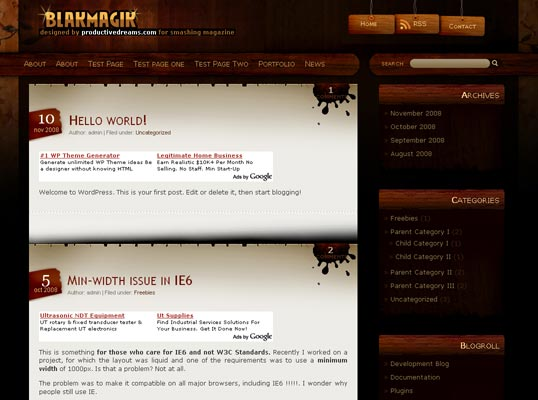 blakmagik-wordpress-theme
