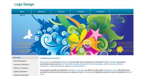 logo-design-xhtml-css-template