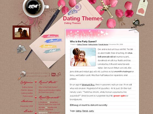 love-letter-wordpress-theme