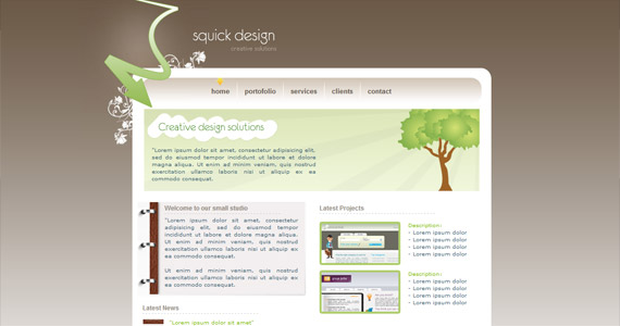 squick-design-css-xhtml-template