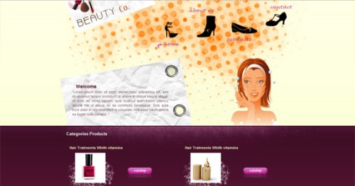 beauty-co-xhtml-css-template